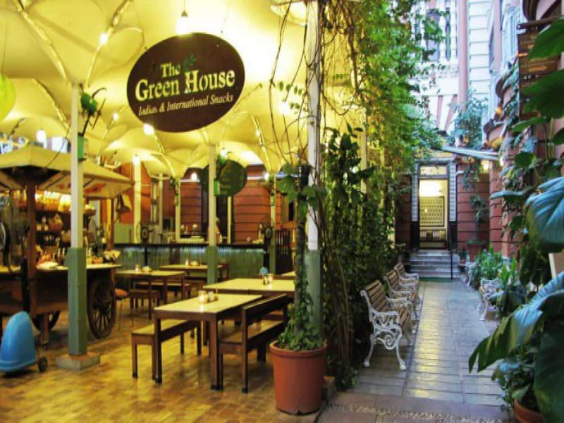 The Green House cafe