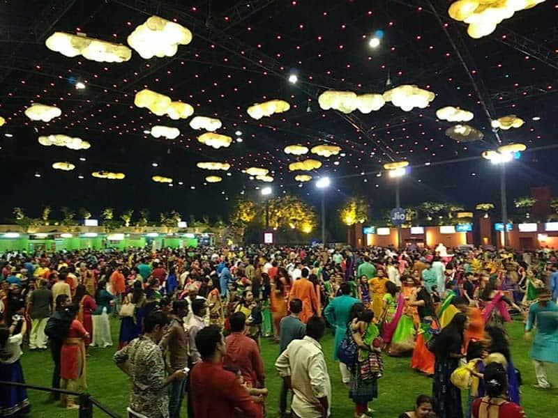 Aakash Aman Party-plot