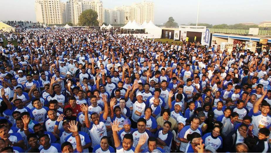 Marathon in Ahmedabad