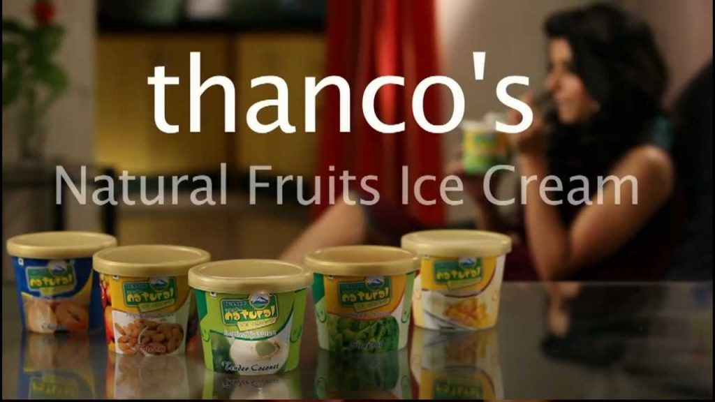 Thanco's natural icecream