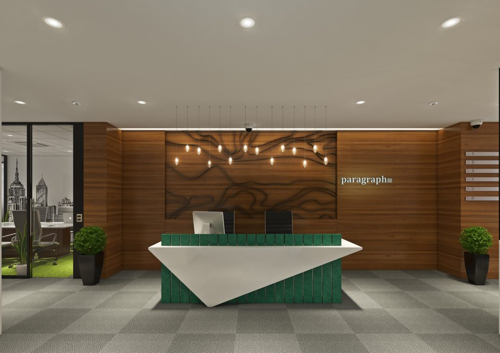 Paragraph coworking space