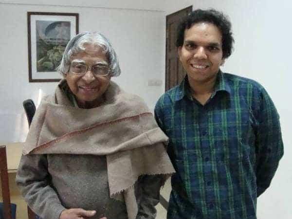 Srijan Pal Singh and Dr. Abdul Kalam